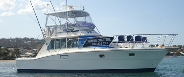 About Reel Affair - Merimbula Fishing Charters<br />  Us